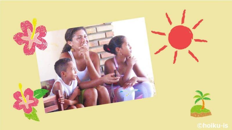 カノア保育園の先生と子どもたち