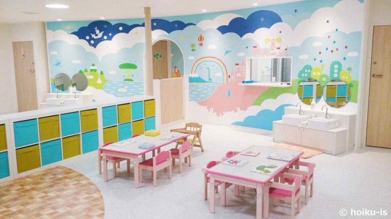 ピカピカの新しい保育園