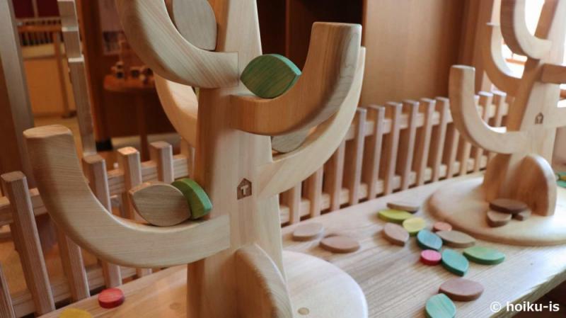 東京おもちゃ美術館の木製おもちゃ
