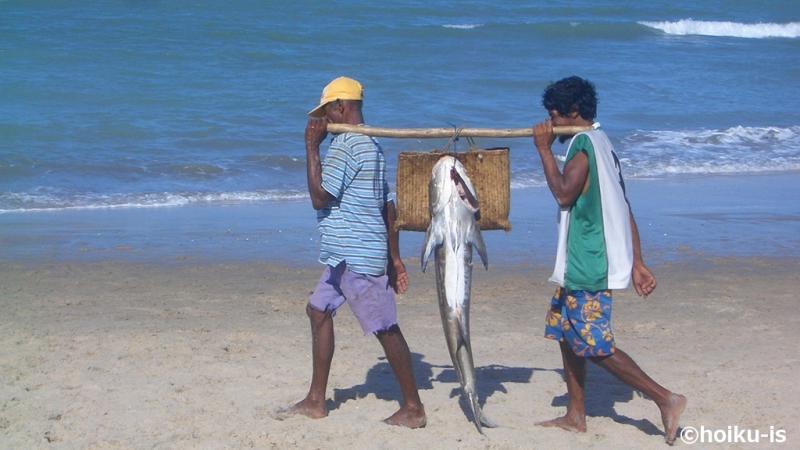ブラジルの漁師たち