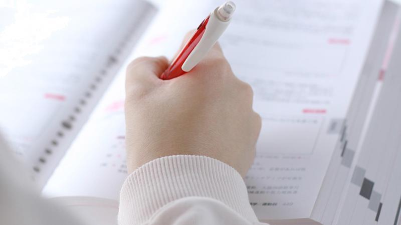 参考書とペン