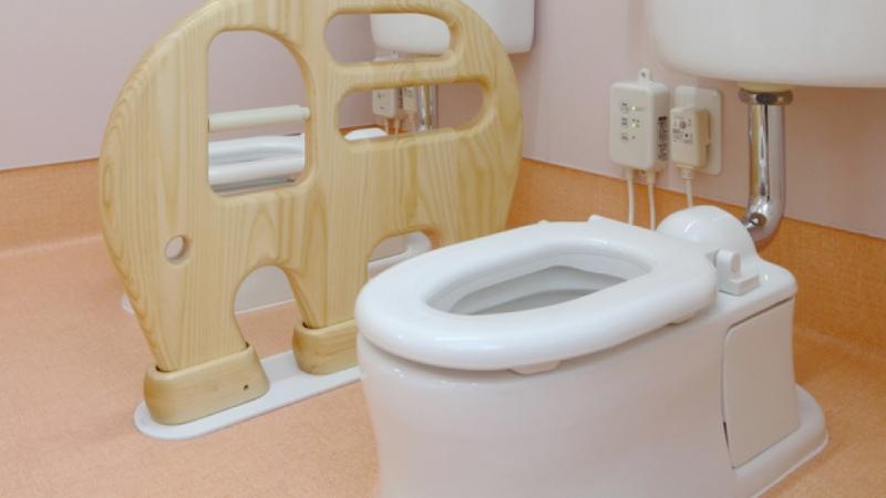 子ども用トイレ